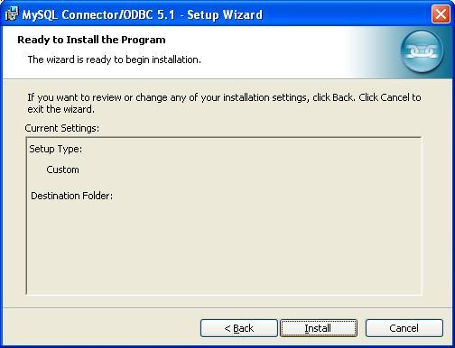 MySQL ODBC Data Connector - Ready