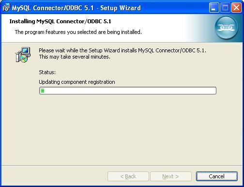 MySQL ODBC Data Connector - Installing