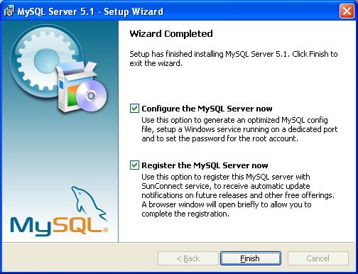 MySQL Installation - Completed