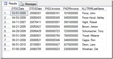 SQLFunctions