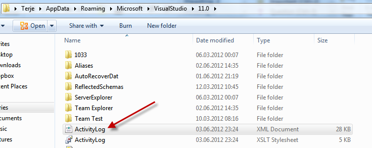 Fixing some Visual Studio 2012 RC install issues