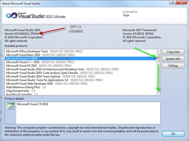 microsoft 2010 update