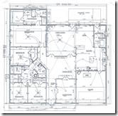 A traditional blueprint