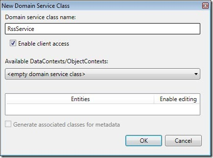 new domain service class