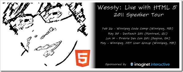 Wessty 2011 Tour