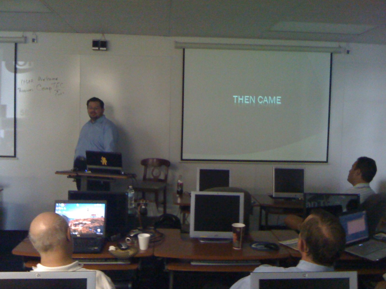 Don Demsak Explaining the evolution of OData - WPB .Net User Group June 22nd 2010