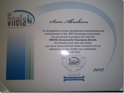 Sam_Abraham_INETA_Community_Champion_2012