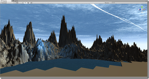 And obviously changed the lighting and skybox a little