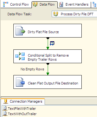SSIS Technique to Remove/Skip Trailer and/or Bad Data Row