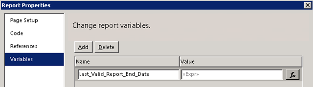 Validate SSRS Report Input Parameters the Proper Way