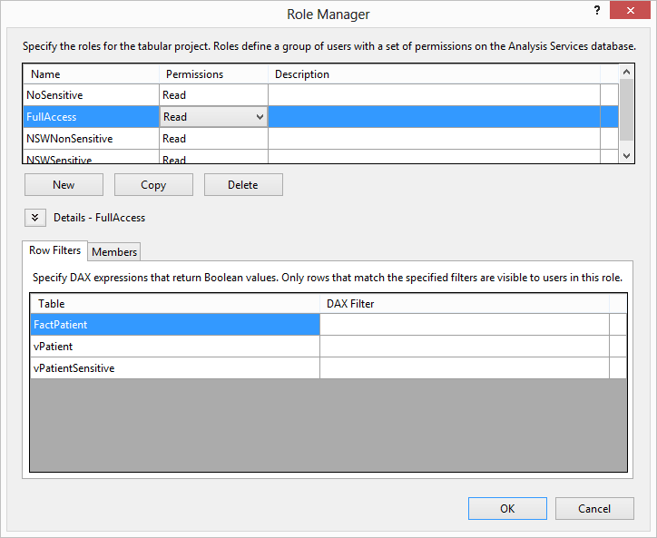 Implementing Column Security with #SSAS Tabular and #DAX