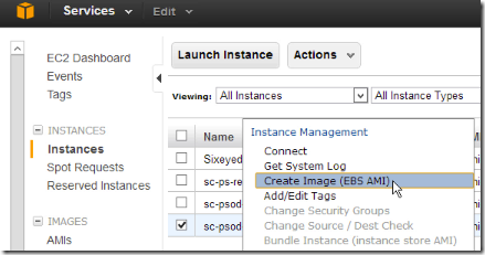 AWS: setting up auto-scale for EC2 instances