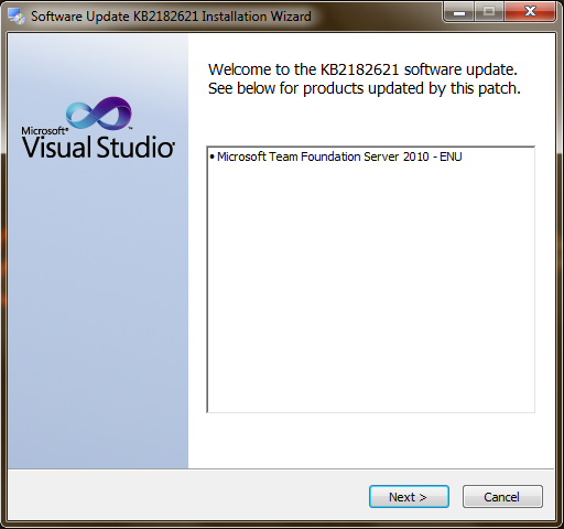 Applying Service Pack 1 to Team Foundation Server 2010