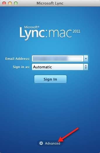 Getting Lync for Mac working with Office 365