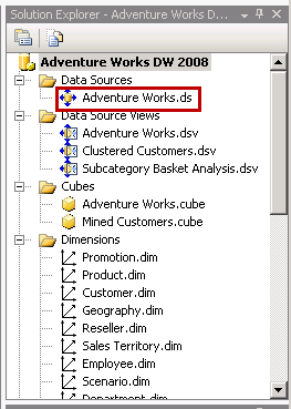 Installing the AdventureWorks OLAP Sample Database