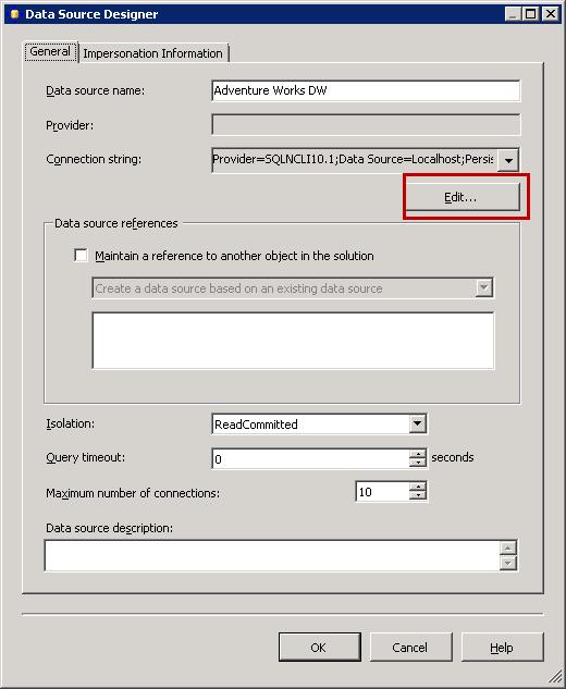Installing the AdventureWorks OLAP Sample Database