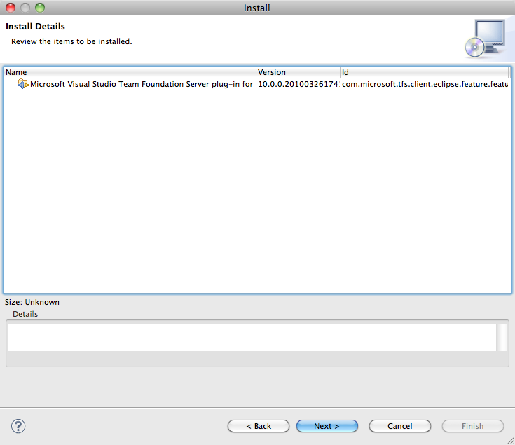 Installing the Team Explorer Everywhere TFS Plug-in on Eclipse
