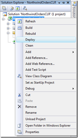 A quick walk-through of CLR Integration with SQL Server