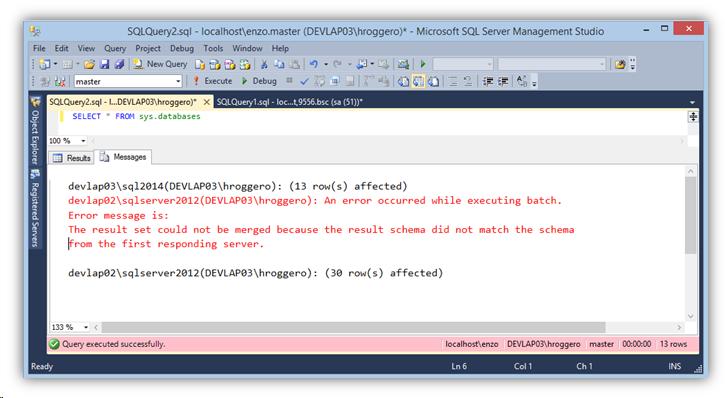 Managing Multiple SQL Servers