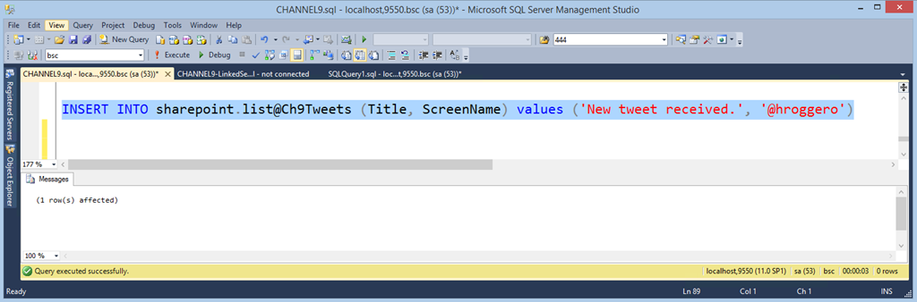 Accessing SharePoint Online Data Directly From SQL Server and REST