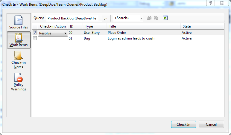 Automatically Merging Work Items in TFS 2013 - blog ehn nu