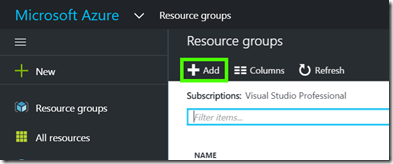 ResourceGroupAdd