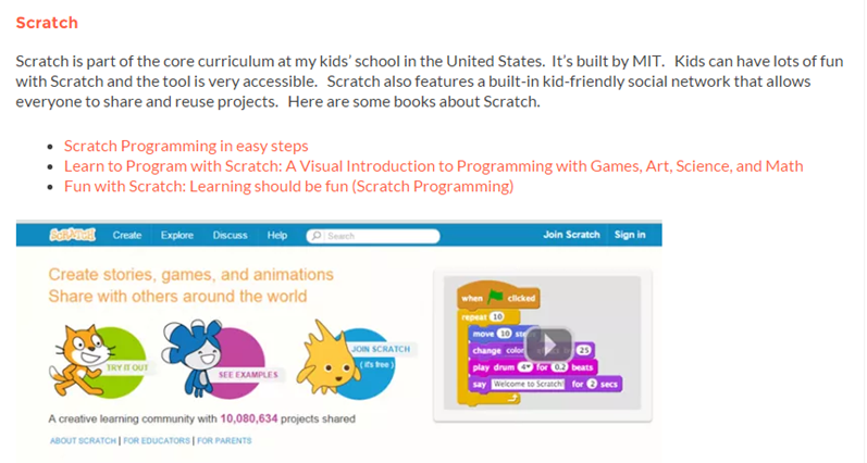 Best Programming Learning Resources For Kids