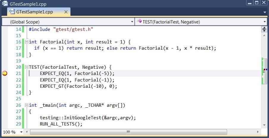 C++ Unit Testing with GoogleTest