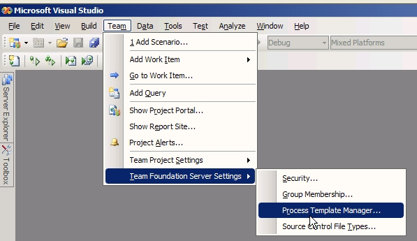 team foundation server process templates - customize your tfs template