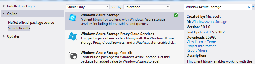 How to use Azure storage for uploading and displaying pictures