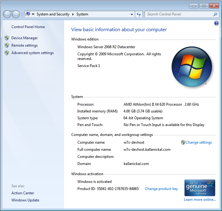 Microsoft Security Essentials as antivirus solution for Windows