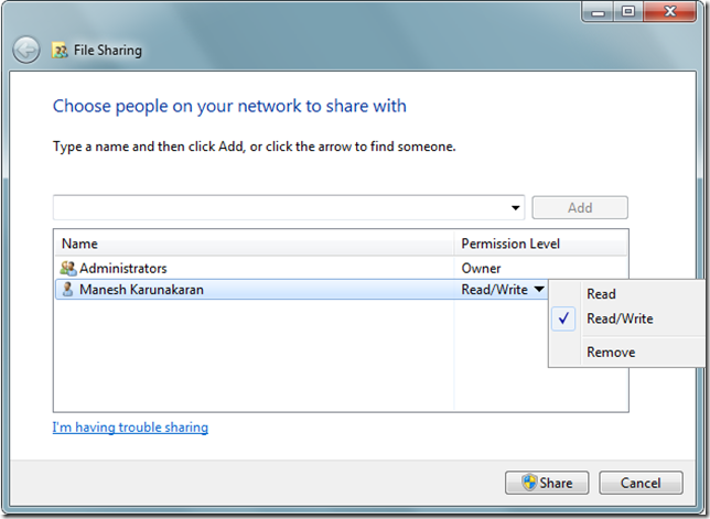 Share Files and Folders and Internet between Guest OS and