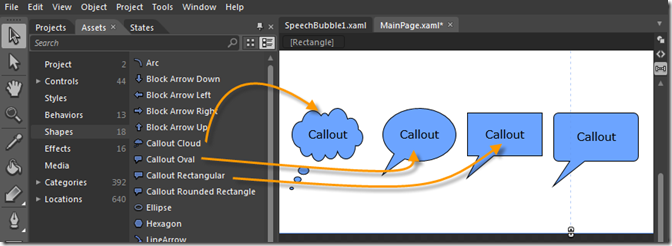 Create Custom Speech Bubbles in Silverlight