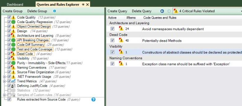NDepend Critical Rules