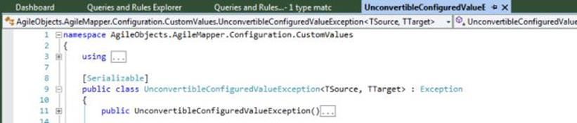 UnconvertibleConfiguredValueException