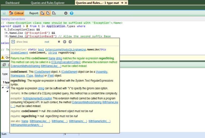 NameLike documentation