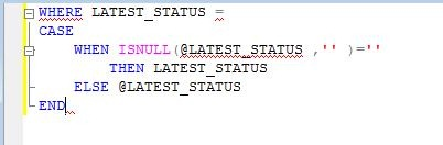SSRS optional parameters settings