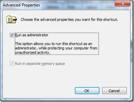 Adding a DLL to the GAC in Windows 7
