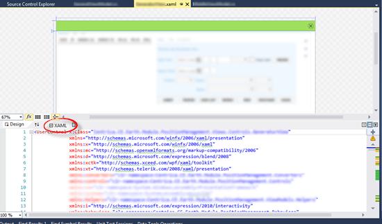 Always open XAML files in full XAML view