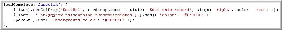 ASP NET MVC with jQuery Grid