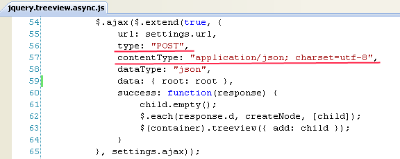 ASP NET Tips : Getting asynchronous JQuery treeview to work
