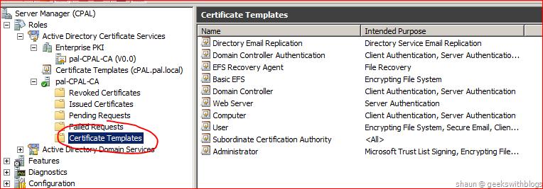 Create a certificate template from a server 2012 r2 ca mrchiyo. Com.
