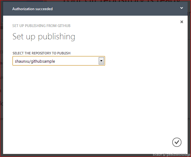 GitHub Integration in Windows Azure Web Site