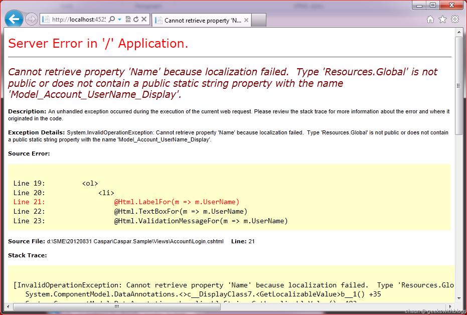 Localization in ASP NET MVC – Upgraded