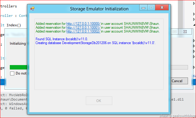 Windows Azure Evolution – Welcome to VS2012