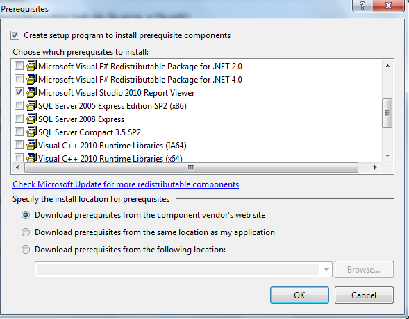 Visual Studio 2010 Beta 2 ReportViewer and Click Once