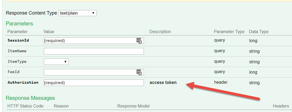 Swashbuckle Swagger UI– Prompt for Access Token ( net Core)