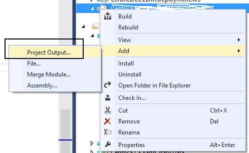 Visual Studio 2013 Installer Projects – Hello World Installer