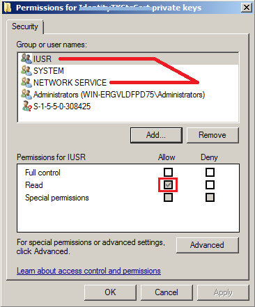 System Security Cryptography CryptographicException: Keyset does not