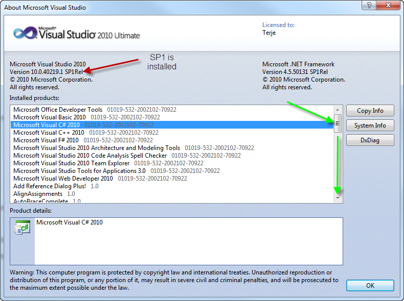 Visual c++ 2010 sp1 download x64   ЕНТ, ПГК, гранты